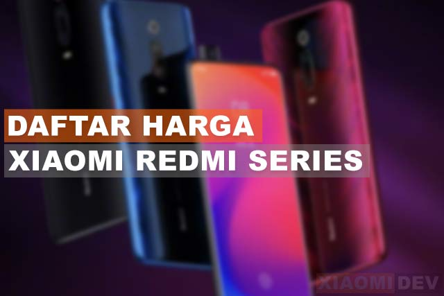 Hp Xiaomi Redmi Series