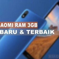 HP Xiaomi RAM 3GB Terbaru dan Terbaik