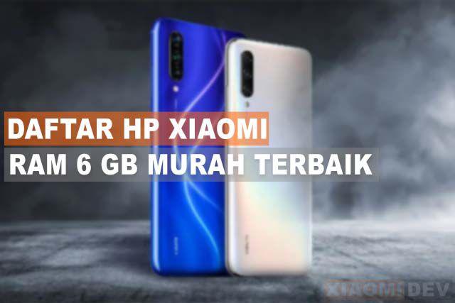 HP Xiaomi RAM 6GB Murah