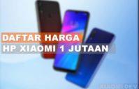 HP Xioami Harga 1 Jutaan