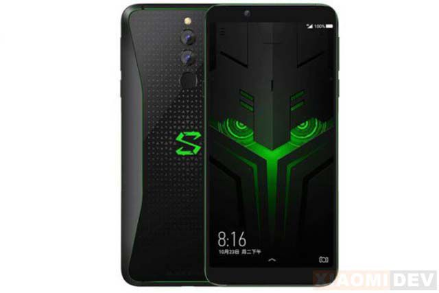 Hp Xiaomi Ram 6GB Black Shark