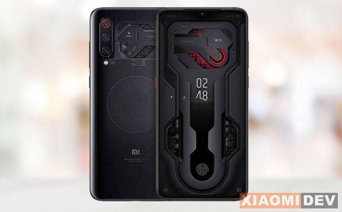 Xiaomi Mi 9 Exporer