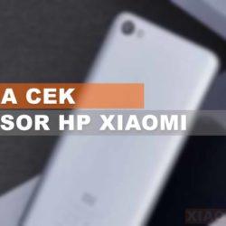 Cara Cek Hp Xiaomi terbaru