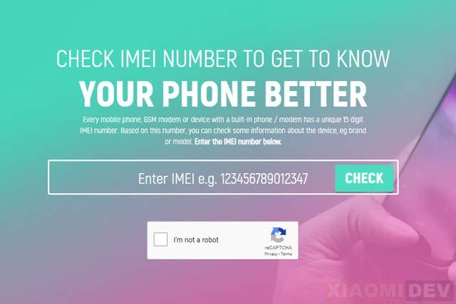 Cara Cek Spesifikasi Hp Xiaomi Dengan IMEI