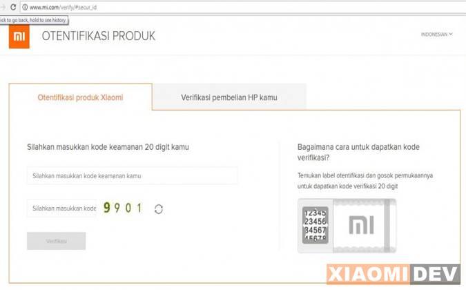 Autentic Produk Xiaomi