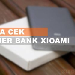 Cara Cek Power Bank Xiaomi