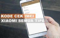 Kode Cek IMEI Xiaomi
