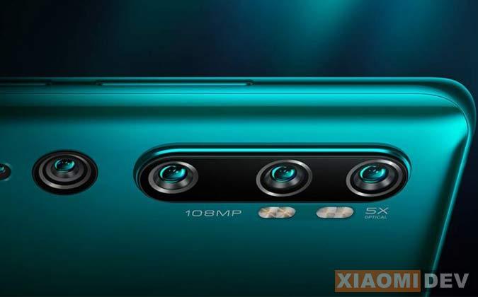 Kamera Xiaomi Mi Mi Note 10