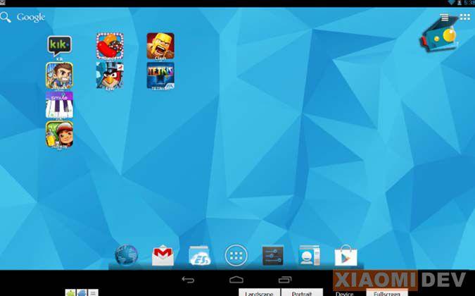 Andringan Andy's Android Emulator