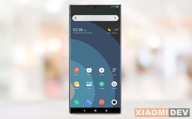 Xiaomi 6 theme