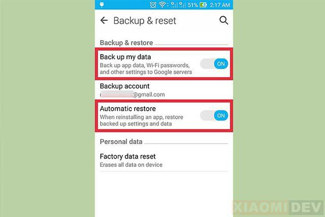 Cara Backup Data Di Smartphone
