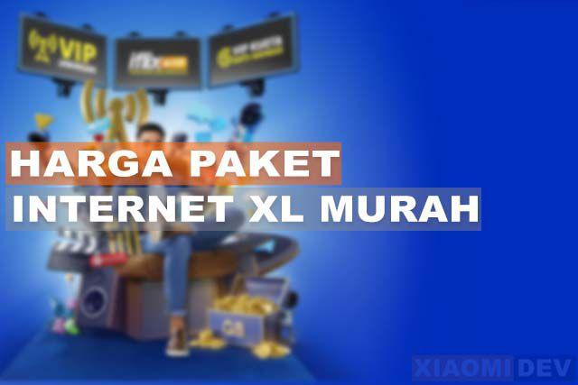 Harga Paket Internet XL Murah