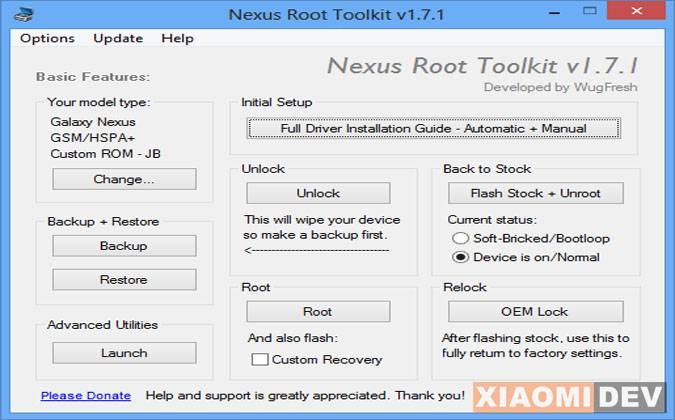 Nexus Root Toolkit