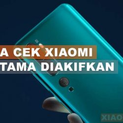 Cara Cek Hp Xiaomi Pertama Kali Diaktifkan