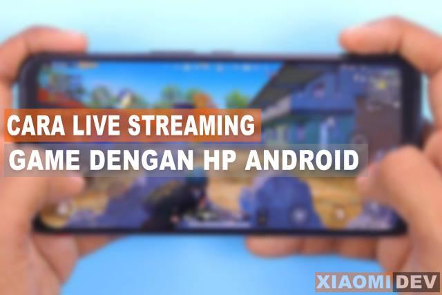 Cara Live Streaming Game di facebook