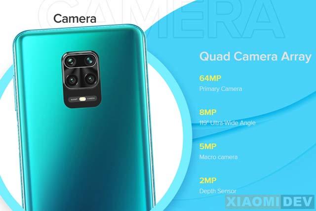 Kamera Belakang Note 9 Pro Max