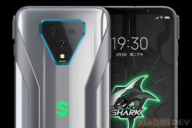 Kamera Black Shark 3 Pro