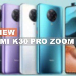 Spesifikasi dan Harga Xiaomi Redmi K30 Pro Zoom