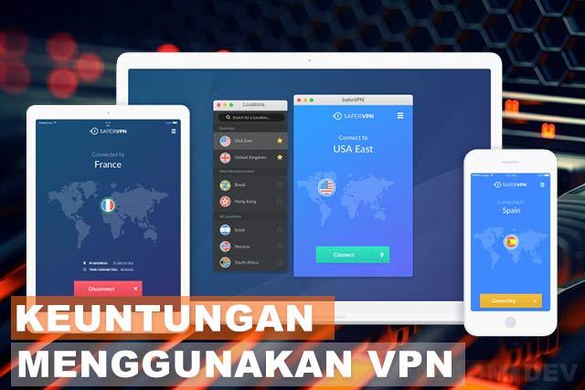 Keuntungan Menggunakan VPN
