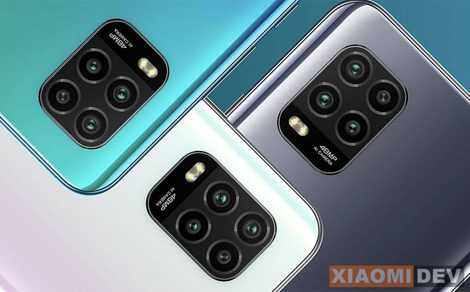 Kamera Xiaomi Mi 10 Lite 5G