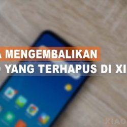 Cara Mengembalikan Foto Yang Terhapus Di Galeri Xiaomi
