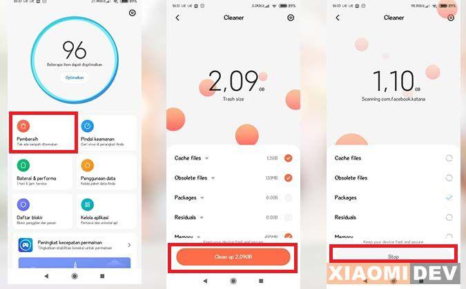 Cache HP Xiaomi