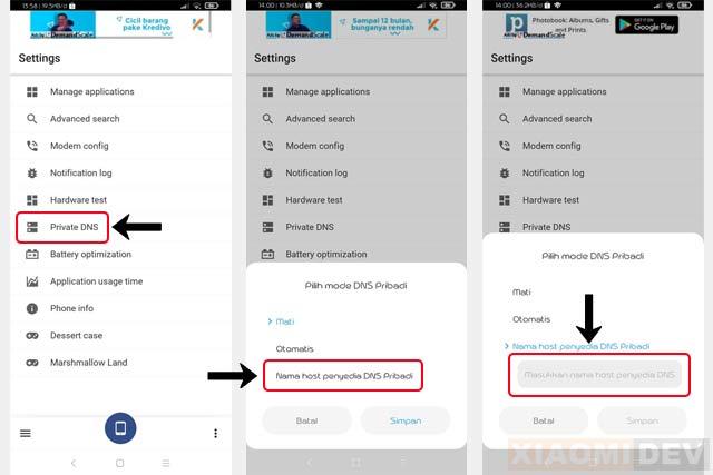 Cara Membuka Situs Yang Diblokir Tanpa Aplikasi di Xiaomi