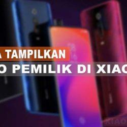 Cara Menampilkan Info Pemilik Di HP Xiaomi