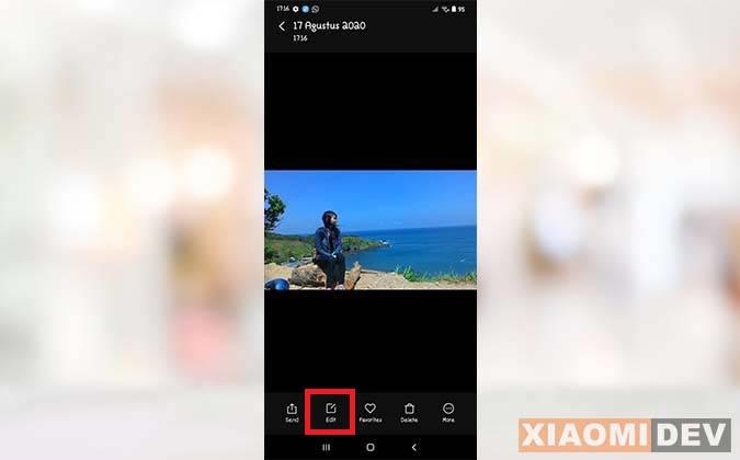 Edit Foto HP Xiaomi