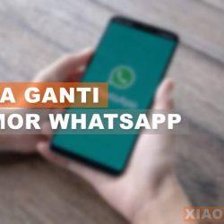 ara ganti nomor whatsapp
