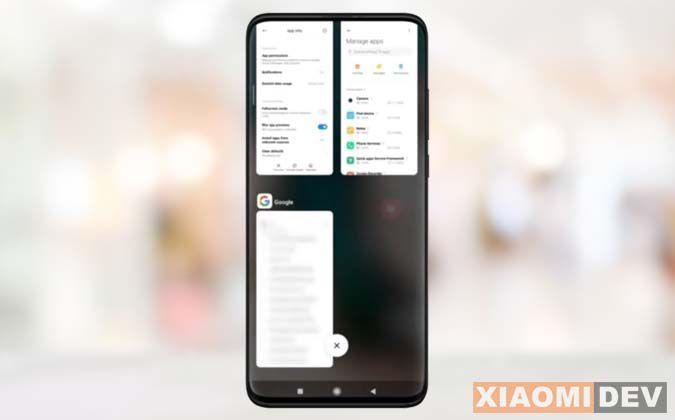 Cara Blur Aplikasi HP Xiaomi