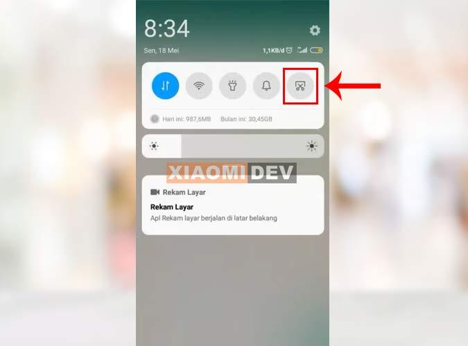 Cara Mengambil Screenshot Panjang Xiaomi