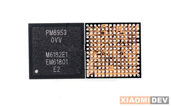 Contoh Gambar IC Power Xiaomi