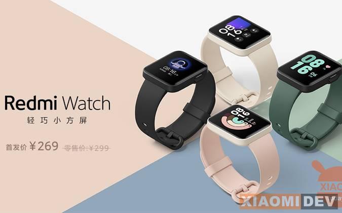 Spesifikasi dan harga Xiaomi Redmi Watch