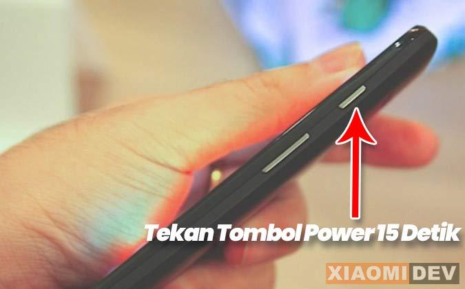 Cara Mematikan Hp Xiaomi Yang Tidak Bisa Disentuh