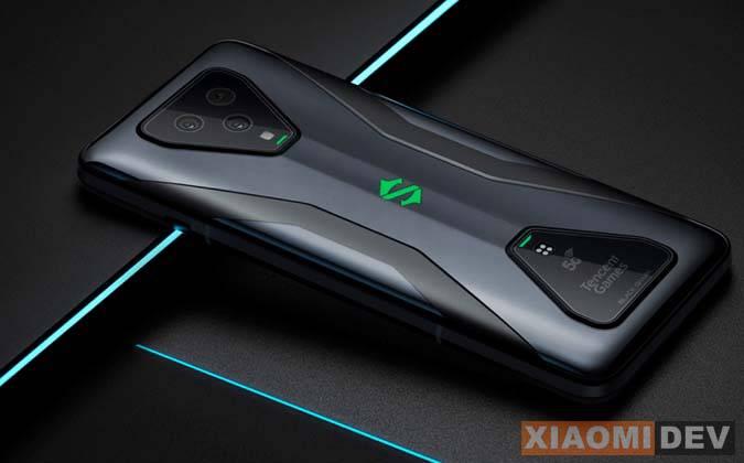 Desain Xiaomi Black Shark 4