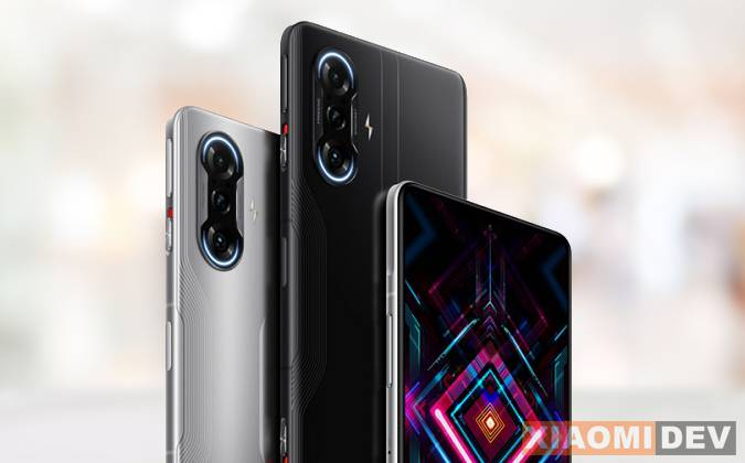 Kamera Xiaomi Redmi K40 Gaming