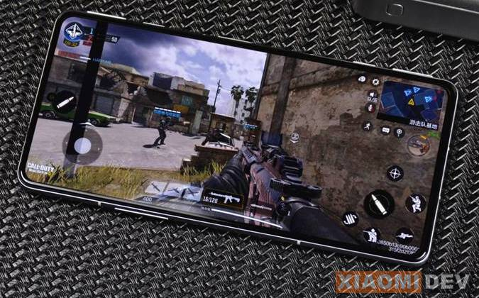 Perfoma Xiaomi Redmi K40 gaming